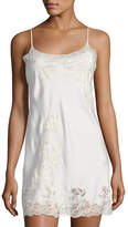 Natori Chantilly Lace-Trimmed Chemise