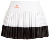 adidas by Stella McCartney Barricade pleated performance skirt