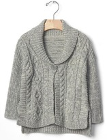 Gap Easy cable knit cardigan