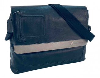Piquadro Blue Leather Bags