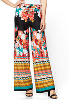 New York & Co. Palazzo Pant - Floral & Graphic Prints