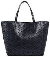 Merona Merona; Women's Faux Leather Perforated Tote Handbag - Merona;