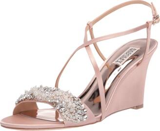 Badgley Mischka Women's Clarisa Wedge Sandal