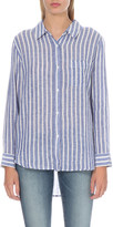 Rails Charli linen-blend shirt