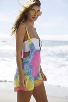 Out From Under Tie-Dye Romper Cover-Up