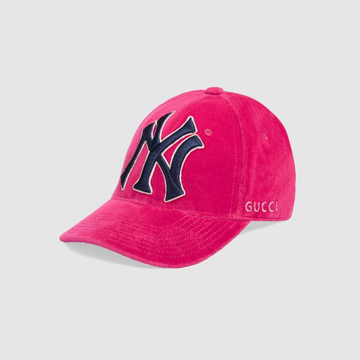 Gucci Baseball hat with NY YankeesTM patch