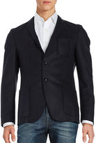 Strellson Wool-Blend Two-Button Blazer