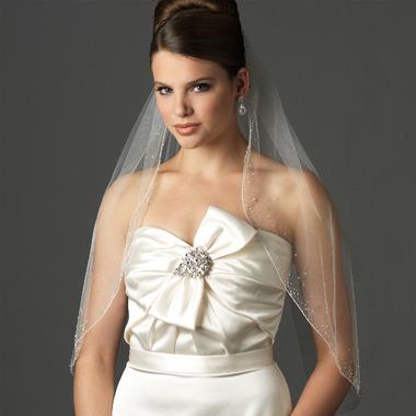 Swarovski Crystal Designer Bridal Veil