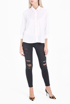 Frame Le Skinny Quintin Shred Jeans