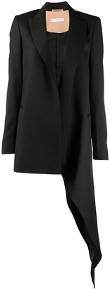 Ssheena Long Sleeve Draped Detail Blazer