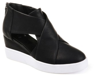 Journee Collection Seena Wedge Sneaker