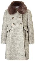 John Lewis Girls' Formal Coat, Grey