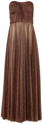 Dolce & Gabbana Lame tulle gown