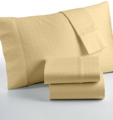 Sunham CLOSEOUT! Cluster Dot 350 Thread Count King Sheet Set