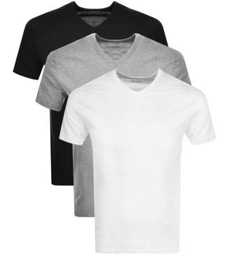 HUGO BOSS Boss Business V Neck Triple Pack T Shirts