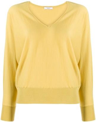 Peserico fine knit V-neck jumper