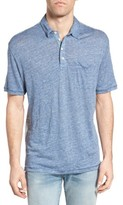True Grit Men's Colorblock Linen Jersey Polo