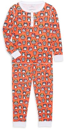 Roller Rabbit Baby's, Little Kid's & Kid's Owlighans 2-Piece Pajama Set