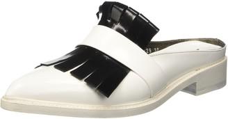 Barracuda Womens Bd0729 Open Back Slip On white Size: 38.5 EU (5.5 UK)