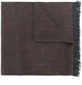 Corneliani frayed scarf