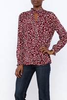 BB Dakota Aheesha Print Top