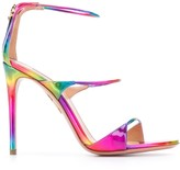 Aquazzura gradient strappy stiletto sandals