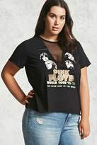 Forever 21 Plus Size Pink Floyd Band Tee