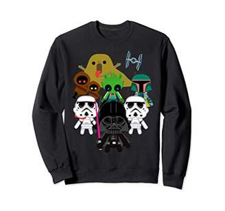 Star Wars Kawaii Villains Sweatshirt