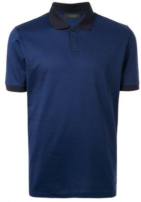 Durban D'urban textured polo shirt