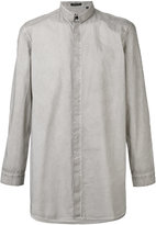 Unconditional long loose fit shirt