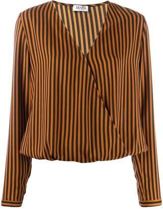 Liu Jo Crock striped blouse