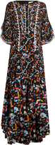 Peter Pilotto Kaleidoscope-print silk-crepe gown
