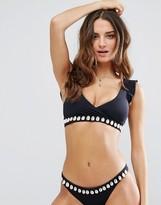 Seafolly Shell Embellished Bikini Top