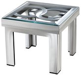 Nova Lighting Silver Circles End Table