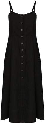 Three Graces Bonita button-up midi dress