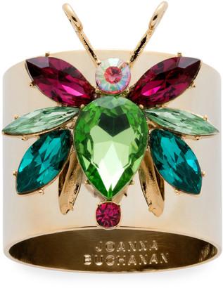 Joanna Buchanan Rainbow Bug Napkin Rings, Set of 2