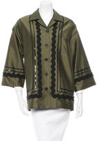 Isa Arfen Embroidered Oversize Jacket