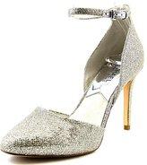 MICHAEL Michael Kors Georgia Ankle Strap Women US 8.5 Silver Heels