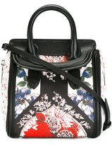 Alexander McQueen mini Heroine floral print tote - women - Leather - One Size