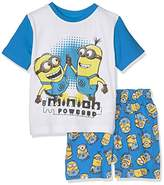 Nickelodeon Boy's Minions Powered Pyjama Sets,ears