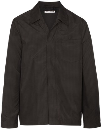 Our Legacy tech archive Chelsea shirt jacket