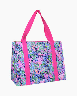 Lilly Pulitzer Insulated Market Shopper Tote