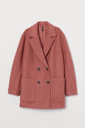 H&M Short boucle coat