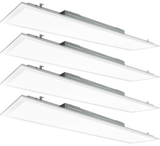 4' x 1' Dimmable LED Flat Panel Light Luxrite
