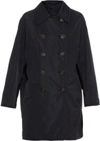 Brunello Cucinelli Double-breasted taffeta trench coat