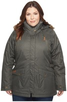 Columbia Plus Size Barlow Pass 550 TurboDown Jacket Women's Coat