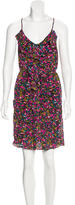 Rebecca Taylor Silk Floral Print Dress
