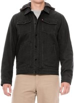 Levi's Heavy Cotton Canvas Jacket - Insulated (For Men)