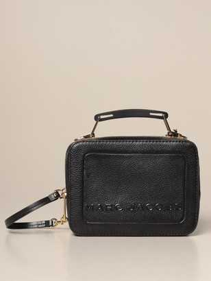 Marc Jacobs The Box Bag In Textured Leather