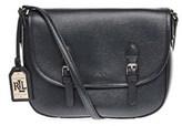 Ralph Lauren Women's Black Leather Shoulder Bag.